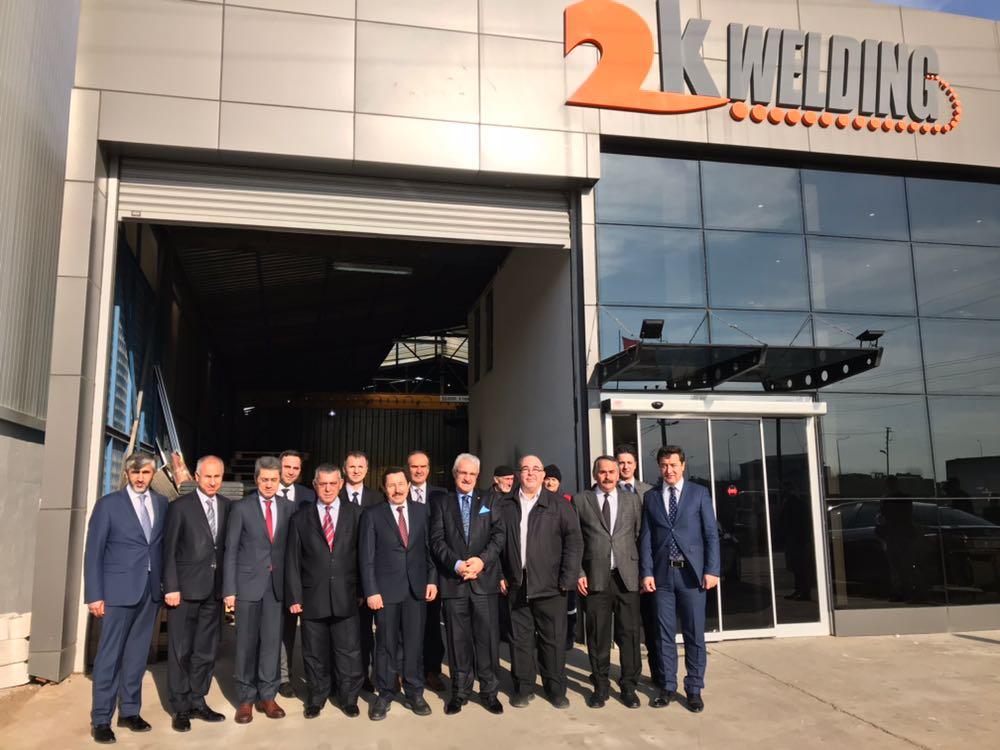 Vali Balkanlıoğlu İlçemizde Fabrika Ziyaretlerinde bulundu