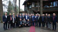 Toçoğlu Muhtarlar Dernek Başkanlarıyla buluştu