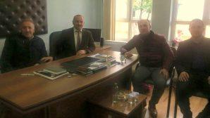 Muzaffer Kabil'i ziyaret ettiler