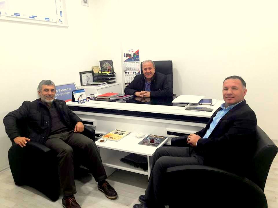 Safitürk'ten Geyve Ak Parti İlçe Başkanına ziyaret