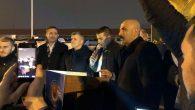Demokrasi MeydanındaTürk Metal Sendikası Üyelerinden eylem
