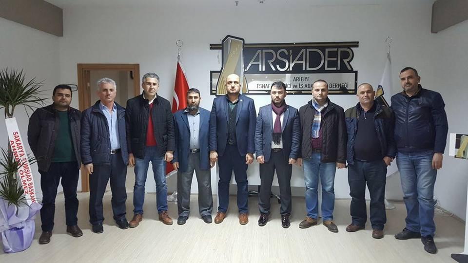 TÜMSİAD Sakarya'dan, Arifiye ARSİADER'e Ziyaret