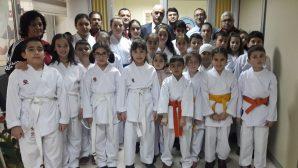 Arifiye HEM'in Karatecileri Yeni Müdürü ziyaret etti