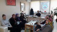 Arifiye Ak Kadınlar Halk Eğitim Müdürü ile görüştü