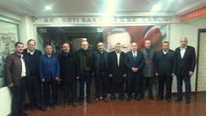 BELEDİYE MECLİS ÜYELERİ 'BAŞKAN ADAYLIĞINA' HAYIRLI OLSUNA GİTTİ