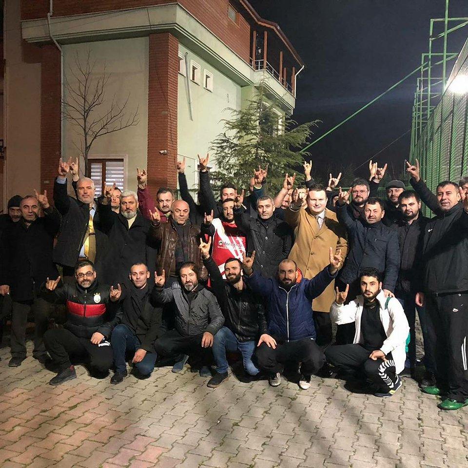 """İL BAŞKANI BÜLBÜL,ARİFİYE'DE """"SON KALE,ELELE MHP"""" ETKİNLİĞİNİ İZLEDİ"""