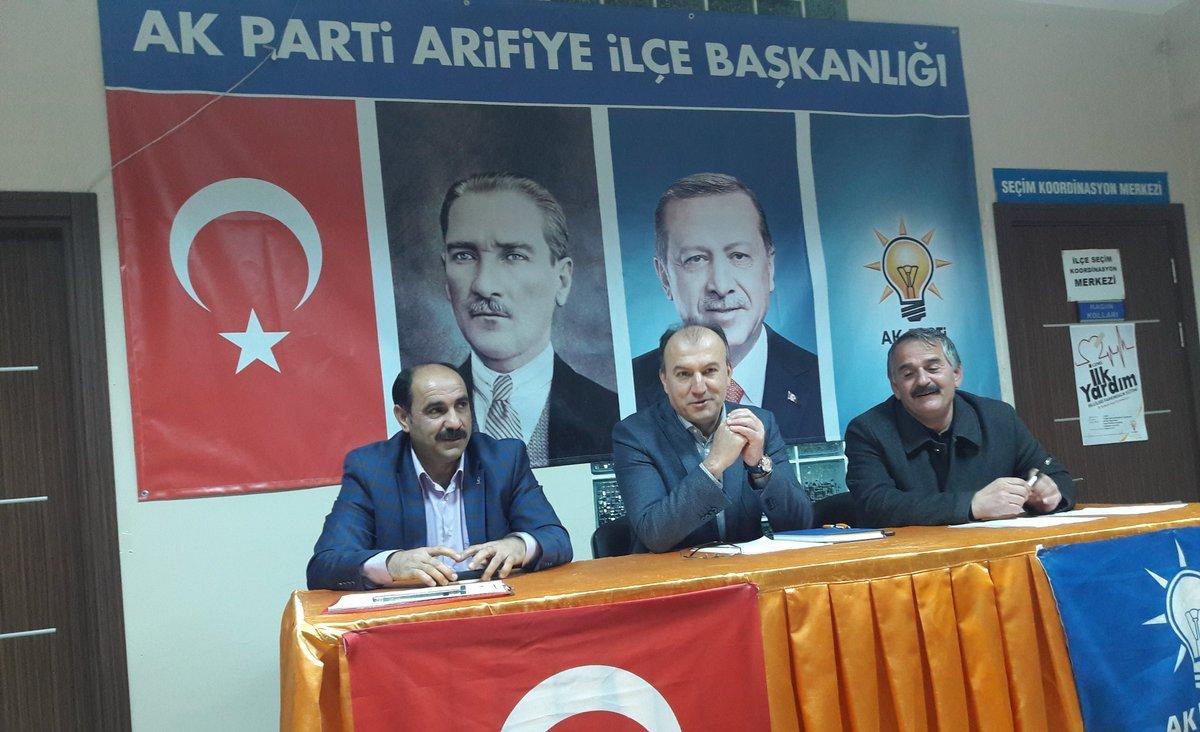 Arifiye Belediyesi Ak Parti Grubu toplandı