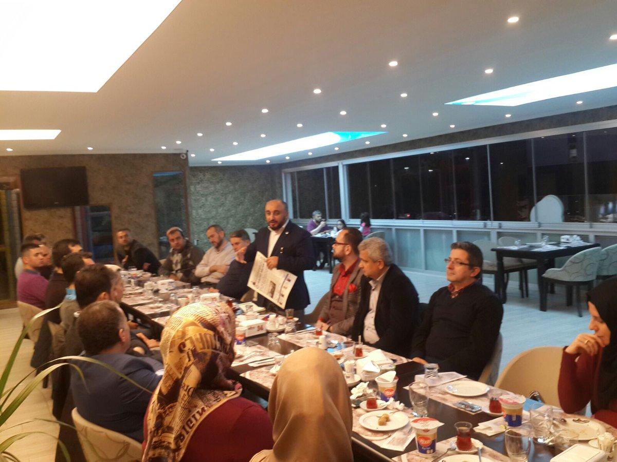 Başkan MENGEN,Arifiye Teşkilat toplantısında konuştu