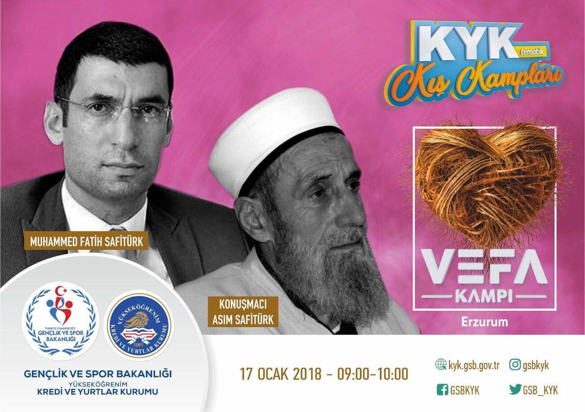ASIM SAFİTÜRK HOCA 17 OCAK'TA ERZURUM'DA