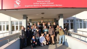 Daire Başkanından Arifiye Rehabilitasyon Merkezine ziyaret