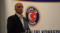 """TÜRK-İŞ Konfederasyonu 81 il temsilcisiyle """"acil"""" kodlu toplantı yaptı."""
