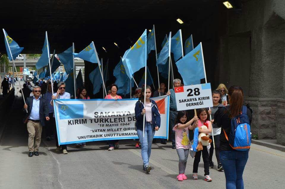 Sakaryalı Kırım Türkleri'nden Hansaray tepkisi