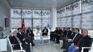 MÜSİAD, AK Parti Sakarya İl Yönetimini Ağırladı