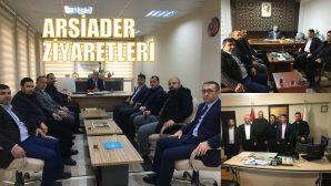 ARSİADER'den Arifiye İlçe Milli Eğitim,Müftülük ve Emniyet'e ziyaret