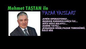 Afrin'i PYD, YPG ve arkasında ki güçlere teslim etmeyeceğiz…