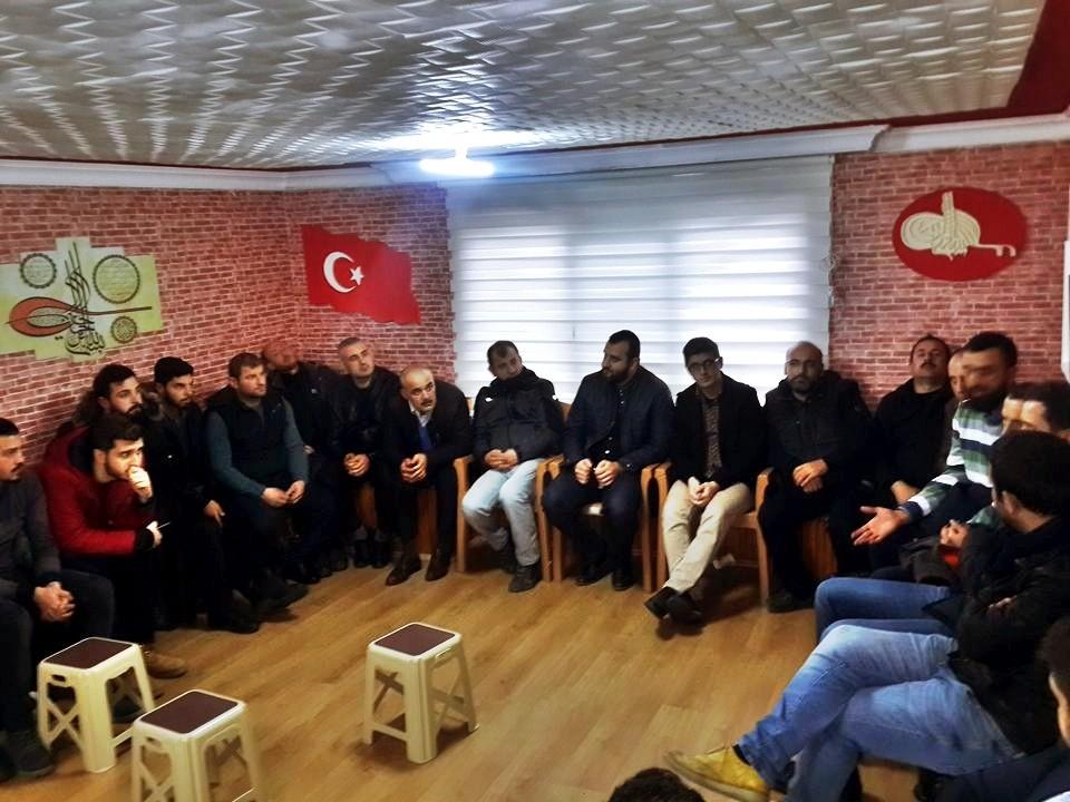 'Kışlaçay Sevdası Derneği' İstişare için toplandı