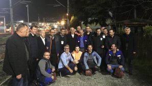 Türk-İş Genel Başkanı Ergün Atalay yeni yıla işçilerle birlikte girdi