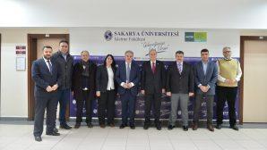 SAÜ İşletme Fakültesi Mustafa İsen'i ağırladı.