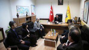 Vali Balkanlıoğlu Kurumları ziyaret etti