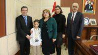 Arifiye'nin Wushu Türkiye Şampiyonu Töre ile buluştu