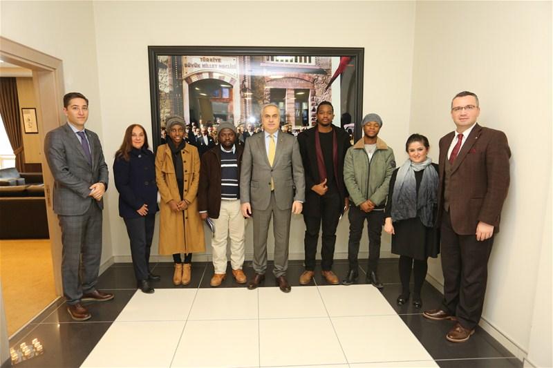 """""""Yabancı Öğrenciler Uluslararası Ticarette Kültür Elçilerimizdir"""""""
