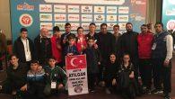 6.Avrupa Kulüpler Yıldızlar şampiyonasında  Arifiye'den Madalya
