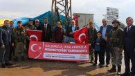 Arifiye Belediye Meclis Üyeleri Suriye Sınırında