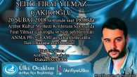 Arifiye Ülkü Ocaklarından 'ŞEHİT FIRAT YILMAZ ÇAKIROĞLU'nu Anma Programı