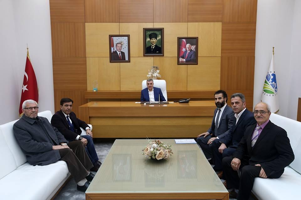 Başkan TOÇOĞLU,Sakarya Erzurumlular Derneği Yöneticileri ile görüştü