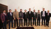 Sakarya Erzurumlular Derneğinden Vali Balkanlıoğlu'na ziyaret