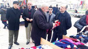 CHP Arifiye İlçe Sosyete Pazarında Esnafı dinledi