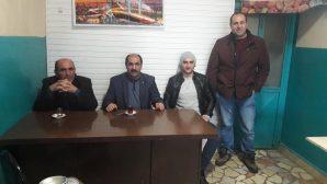Arifiye'nin Afrin'de Görevli Askerinden ziyaret