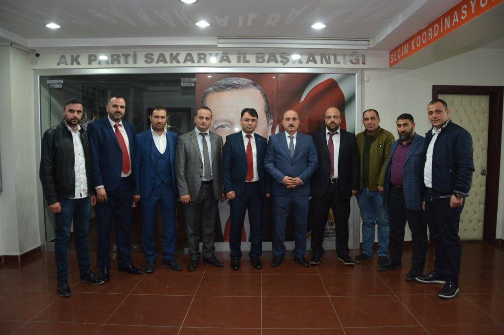 ARSİADER'DEN AK PARTİ İL BAŞKANI KILIÇ'A ZİYARET