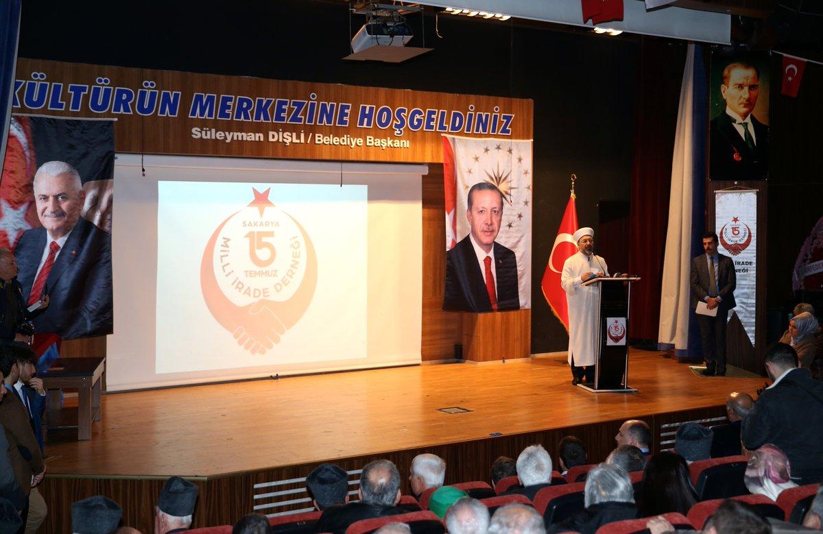"Dr. Ali Erbaş, ""Din bu milletin mayasıdır"""