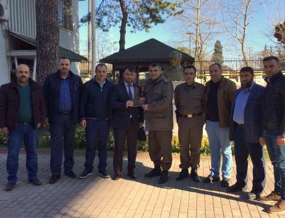 ARSİADER'den İlçe Jandarma'ya ziyaret