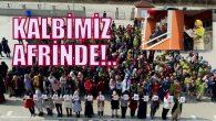 """ARİFİYE OSMAN ÖZTÜRK İHO'DAN """"AFRİN'E 54 MEKTUP 54 BAYRAK"""""""
