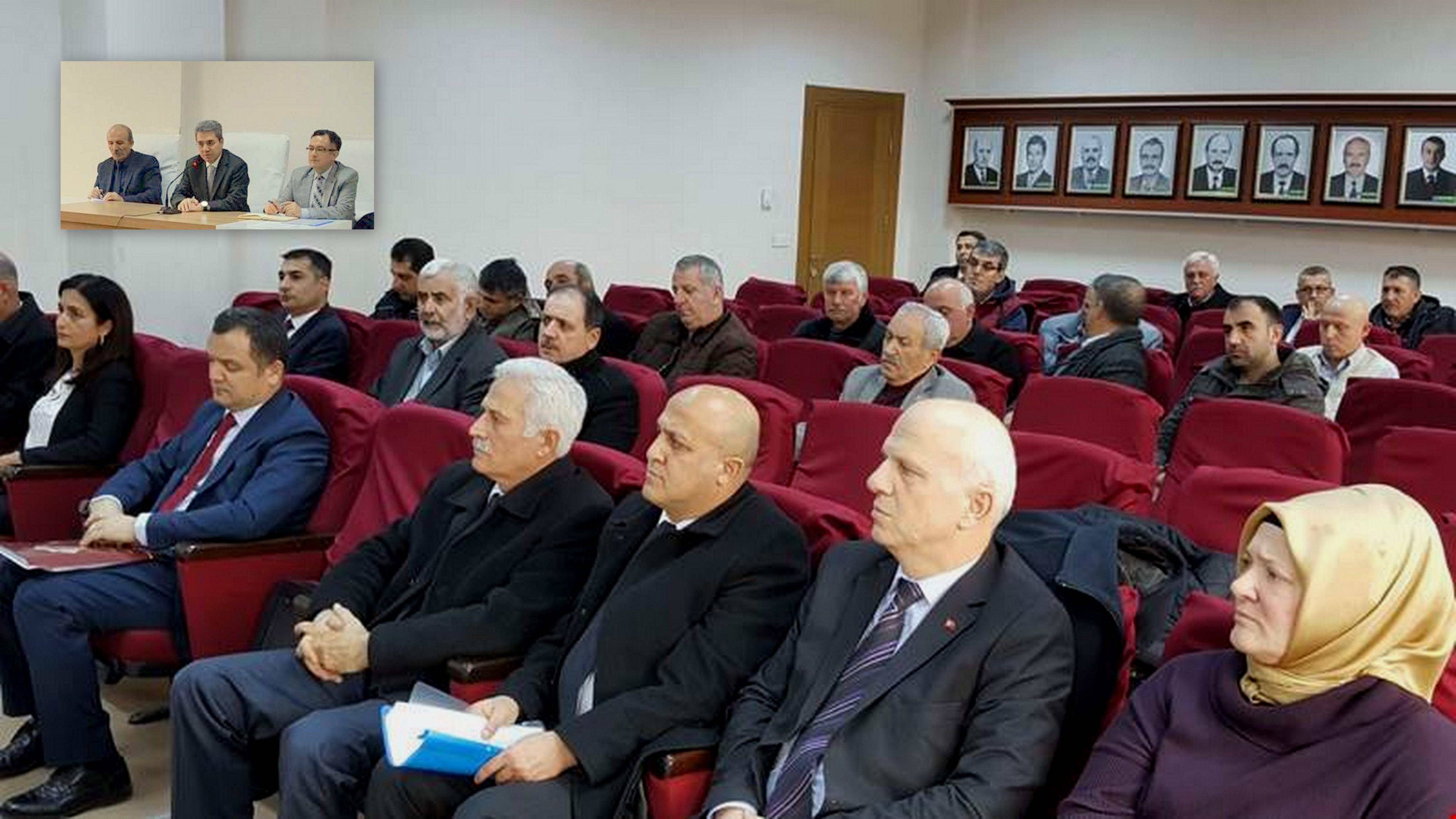 Arifiye'de Şubat Ayı Muhtarlar Toplantısı Yapıldı