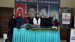Arifiye Ak Kadınlardan Afrin'de ki Mehmetçik'lerimize!..