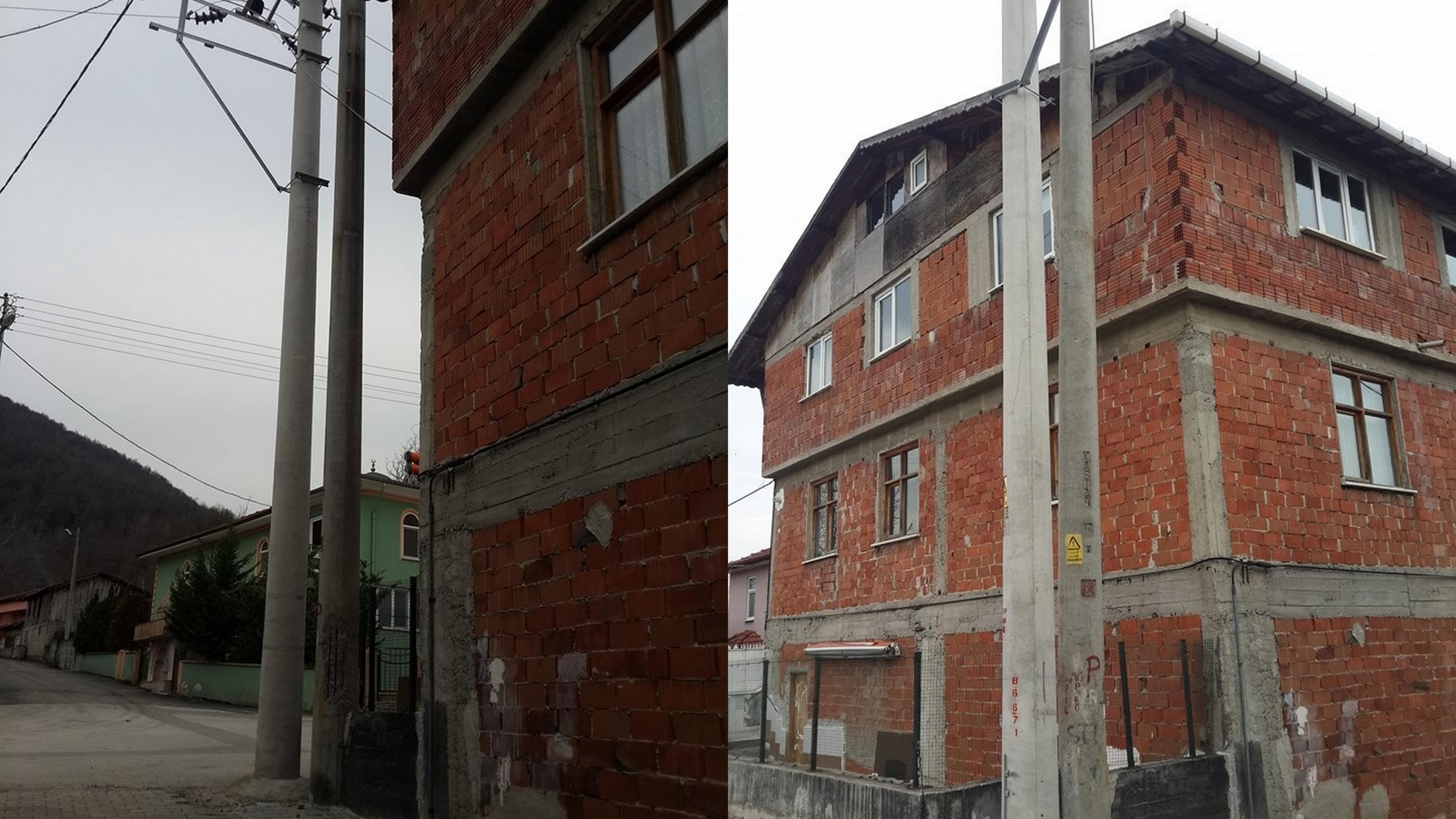 Arifiye Kışlaçay Mahallesi'nde Elektrik Direği İsyanı