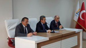 Eğitim Güvenlik Koordinasyon Toplantısı Yapıldı