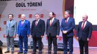 Başkanlar Birliği'nden Toçoğlu'na ödül