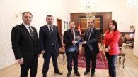 Aile Hekimleri Derneği Üyeleri Vali Balkanlıoğlu'nu Ziyaret Etti