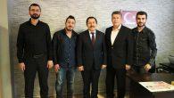 Vali Balkanlıoğlu'ndan Basın Kuruluşlarına Ziyaret