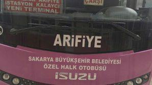 Arifiye Halk Otobüslerinden Mehmetçik'e destek…