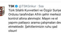 18 Mart'ta TSK'dan  Afrin destanı