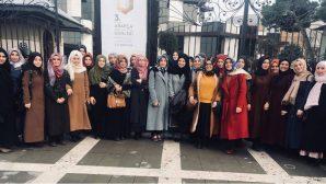 SAÜ İlahiyat Fakültesi Öğrencileri Arapça Kitap Fuarına Katıldı