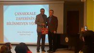 Yazar ÖZDAMARLAR,Arifiye Osman Öztürk İ.H.O'da 'Çanakkale'yi anlattı