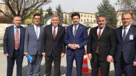 Başkan Karakullukçu ve Arifiye Ak Parti İlçe Başkanı  Ankara'da