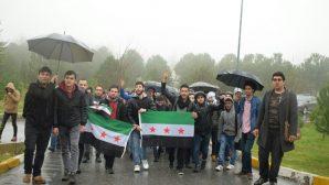 Doğu Guta Katliamına SAÜ'de Okuyan Suriye'li Öğrencilerden tepki