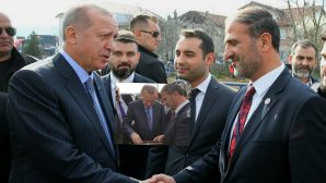 Cumhurbaşkanı Erdoğan,Önder Karan ve Metehan Başar ile görüştü